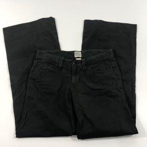 Lucky brand Wide Leg Flare Black Pants